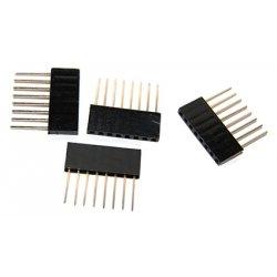 стекируемые контакты 8 контактов 2.54 мм  10 мм pin header мама папа
