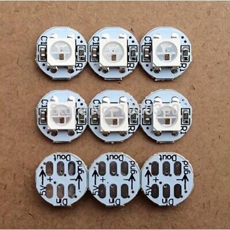Светодиод адресуемый WS2812B LED на подложке  10мм х 3мм DC5V 5050 SMD RGB