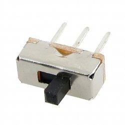 Ползунковый переключатель слайдер SS-12D00G3 3 контакта 2 позиции 1p2t миниатюрный