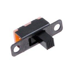 Ползунковый переключатель слайдер SPDT SS12F15VG5  3 контакта 2 позиции 1p2t миниатюрный DIY