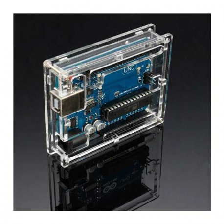 Акриловый прозрачный корпус для Arduino Uno,  Leonardo, Arduino 2014 smd