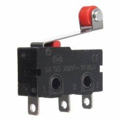 кнопка концевик вкл выкл  3-контакта  5А 250VAC переключатель