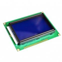 Экран LCD  12864 синий ST7920  дисплей Display с подсветкой
