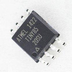ATTINY85-20SU SOP8  микросхема микроконтроллер ATMEL 8-bit  8 кб flash 20мГц