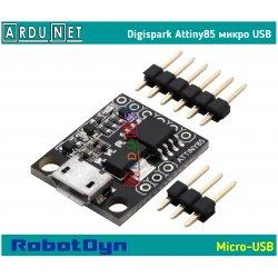 Digispark Attiny85 микро USB ROBOTDYN Arduino плата разработчика микро ардуино Kickstarter micro usb