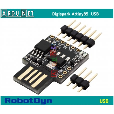 Digispark Attiny85 ROBOTDYN Arduino плата разработчика микро ардуино Kickstarter mini usb 1