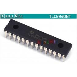 Драйвер светодиодов TLC5940NT TLC5940 DIP-28 TI LED Driver IC