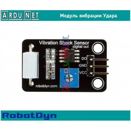 Модуль вибрации сенсор датчик Удара Robotdyn Vibration Shock Sensor