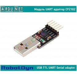 Адаптер USB to UART cp2102 3.3v 5v dcd rst модуль Module usb2ttl arduino RobotDyn