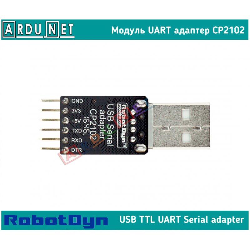 USB 20 to TTL CP2102 UART 6-Pin Module Serial
