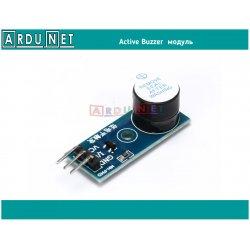 модуль зуммер buzzer module 3В 5В активный