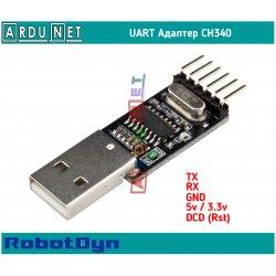 Адаптер USB to UART ch340 5v dcd rst модуль Module usb2ttl arduino RobotDyn