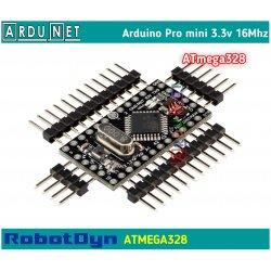 ARDUINO Mini Pro atmega328 3.3V 8M SMD ардуино про мини 3.3в 8мгц RobotDyn