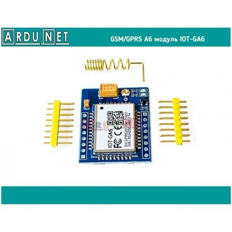 GSM/GPRS  A6  AiThinker модуль arduino stm32 четырехдипазонный 850/900/1800/1900 МГц
