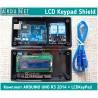 КОМПЛЕКТ Arduino Uno R3 2014 + LCD Keypad Shield 1602 LCD 16 симв 2стр шилд