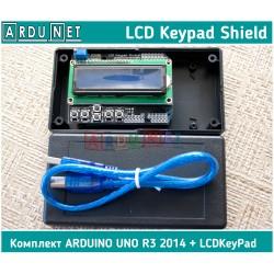 LCD Keypad Shield модуль Arduino з 1602 LCD 16 симв 2 рядки Ардуіно