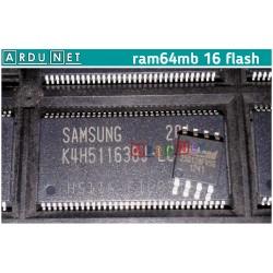 память 64мб  Samsung K4H511638J-LCCC K4H511638J DDR memory микросхема ОЗУ