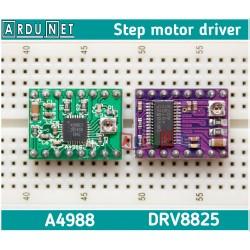 Драйвер шагового двигателя DRV8825  35В +радиатор driver step motor POLOLU