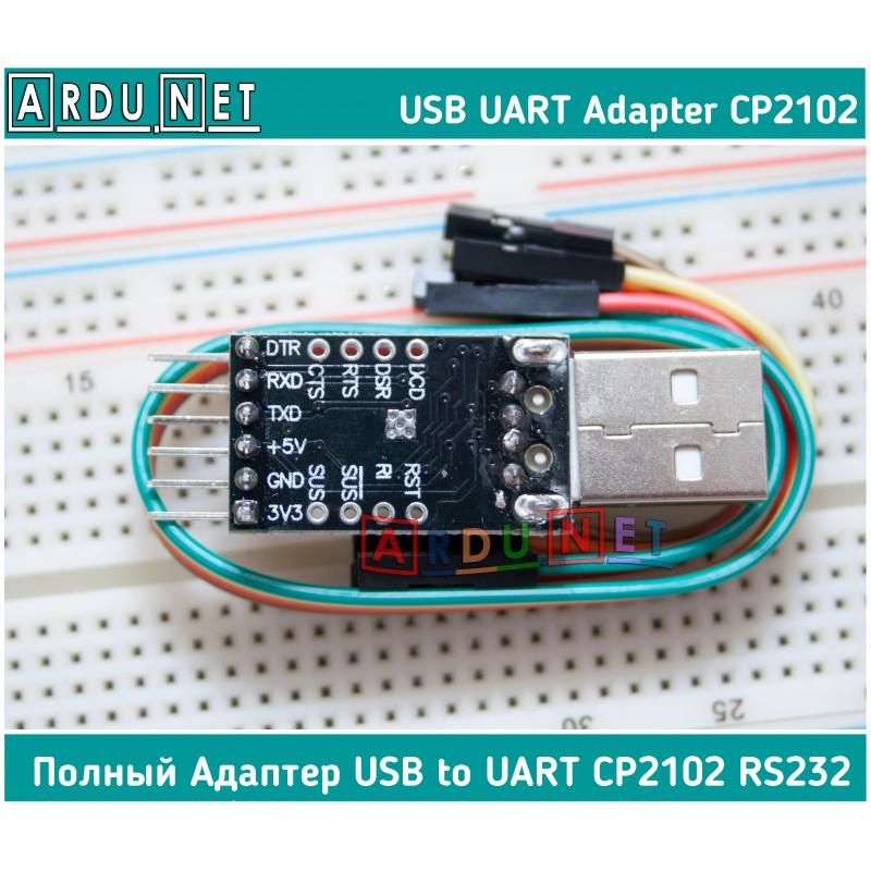 Arduino Pro Mini CP2102 USB-UART