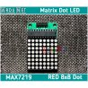 Модуль max7219 Светодиодная матрица 8x8 led matrix LD-1088BS Arduino