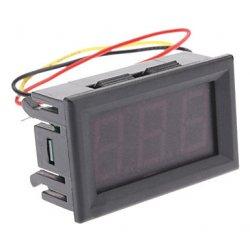 Цифровой вольтметр 0-99В измерение напряжение питание 4-30В индикатор напряжения