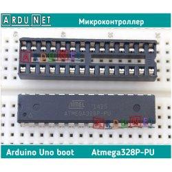 Микроконтроллер atmega328P-PU Boot arduino atmega328 atmel UNO DIP avr