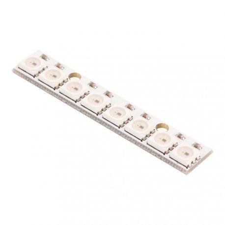 Модуль светодиодный WS2812 5050 RGB 8 светодиодов Neopixel led адресуемый