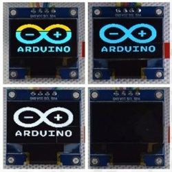 Дисплей жовто-синій LCD OLED 0.96'' 128x64 I2C