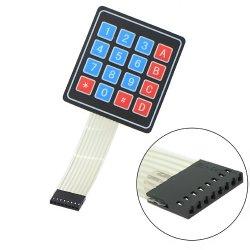 мембранная клавиатура 16 кнопочная 4*4 Matrix Keyboard Key Membrane Switch Keypad