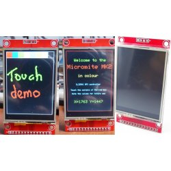 "Дисплей сенсорный  2.4"" SPI 240x320 ILI9341 LCD touch XPT2046 экран LCD"