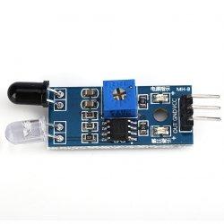 модуль инфракрасный датчик препятствий 3 провода